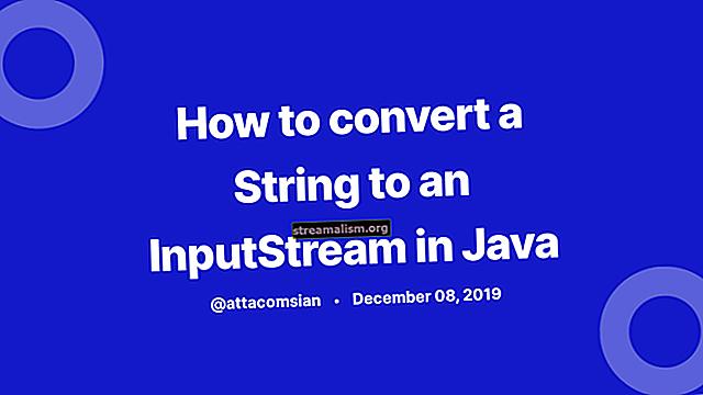 Java InputStream naar String