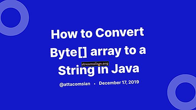Converteer Character Array naar String in Java