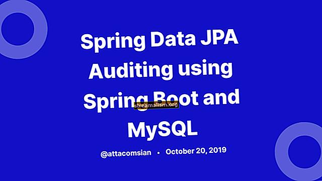 Revizija s JPA, Hibernate i Spring Data JPA