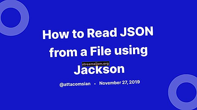 Jackson JSON-zelfstudie