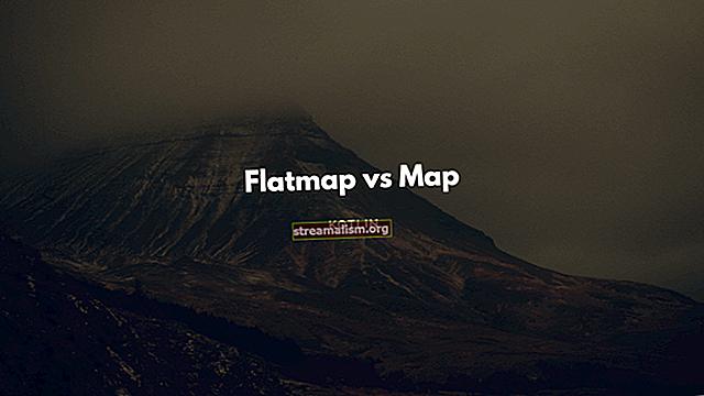 Het verschil tussen map () en flatMap ()