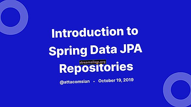 Inleiding tot Spring Data JPA