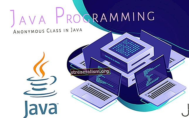 Anonieme lessen in Java