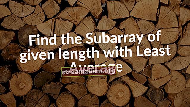 Zoek som en gemiddelde in een Java-array