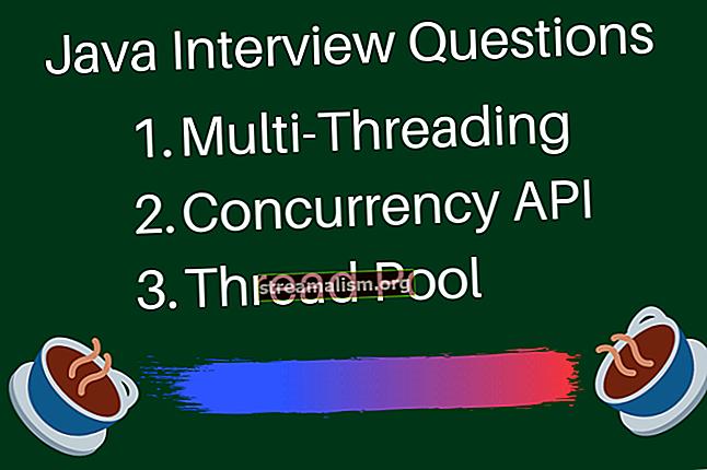 Vragen over Java Concurrency-sollicitatiegesprekken (+ Antwoorden)