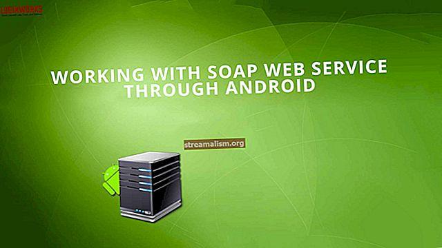 Het aanroepen van een SOAP-webservice in Java