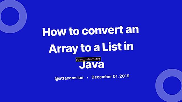Een lijst converteren naar een string in Java