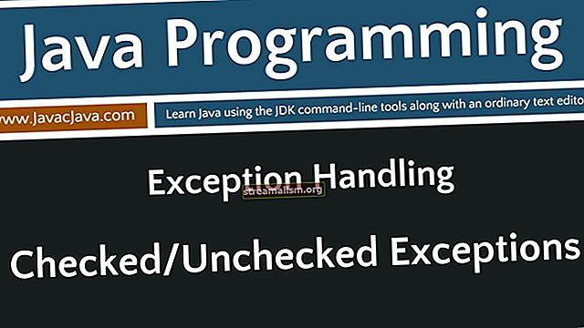 Gecontroleerde en ongecontroleerde uitzonderingen in Java