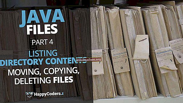 Hoe een bestand te kopiëren met Java