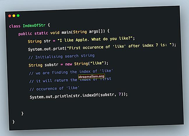 Haal substring op van String in Java