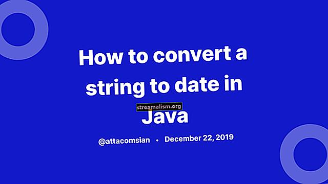 A karakterlánc konvertálása dátumra Java-ban
