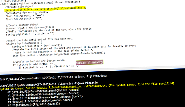 FileNotFoundException in Java