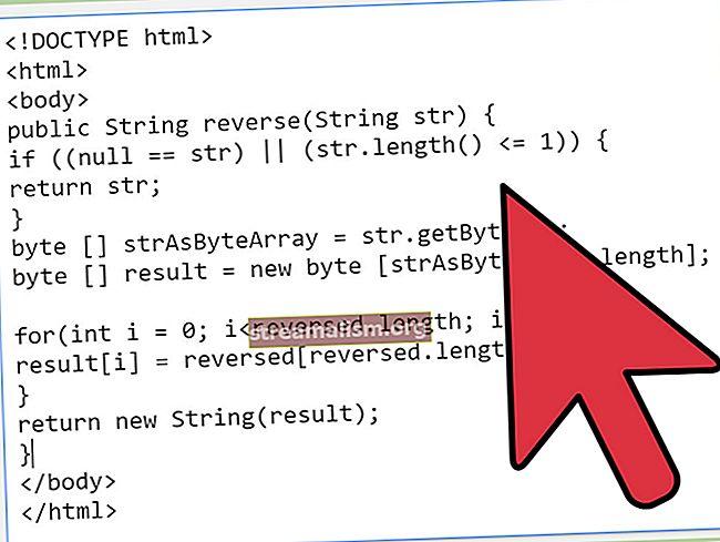 Hogyan lehet megfordítani egy karakterláncot a Java-ban