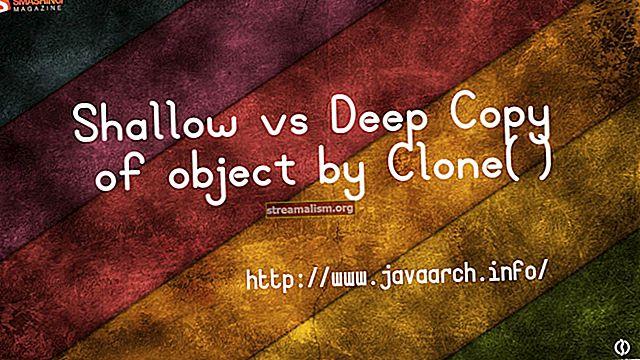 Hogyan készítsünk egy objektum mély másolatát Java-ban