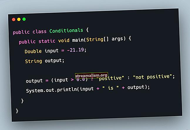 Gebruik van de Not Operator in If-voorwaarden in Java