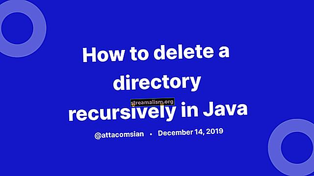 Verwijder een directory recursief in Java