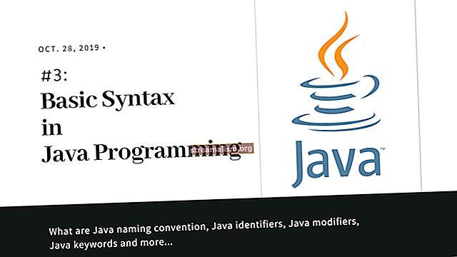 Inleiding tot de basissyntaxis in Java