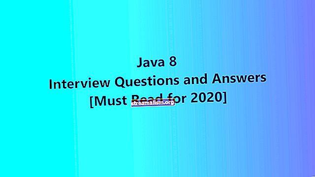 Java 8 interjúkérdések (+ válaszok)