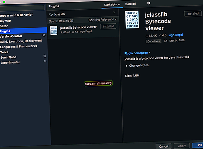 Tekintse meg az osztályfájl Bytecode-ját a Java-ban