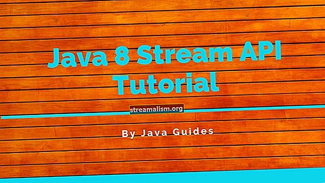A Java 8 Stream API bemutatója