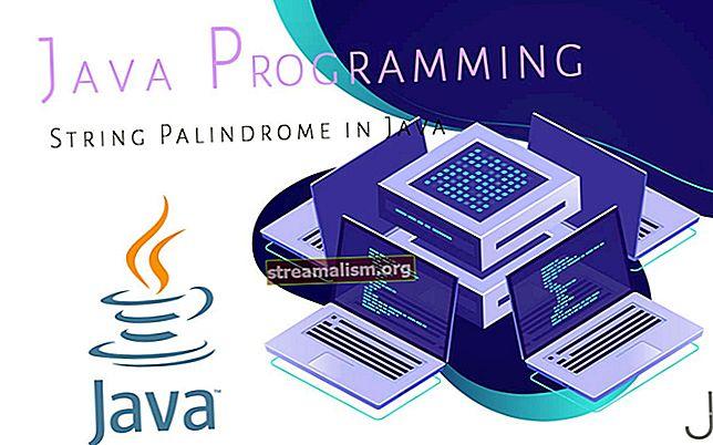 Ellenőrizze, hogy a karakterlánc Palindrome-e a Java-ban